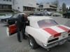 Sten Toresen klar for cruising i sin 1969 Camaro Pace Car.