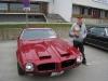 The winner is: Tommy Leonhardsen fikk prisen for beste bil, stemt fram av de andre deltakerne, for sin 1973 Pontiac Firebird