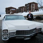 Jarle Sandvik Cruiser of the night med sin Cadillac DeVille
