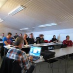 Medlemsmøte med vafler og kaffe i Fjellandsbyen