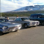Tunderbird, Buick LeSabre og Chevrolet Astro van soler seg