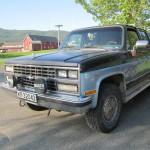 Chevrolet Surburban V20 4x4 1989 mod.